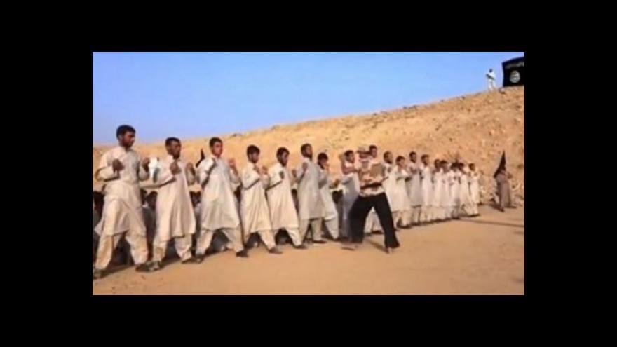 Video Radikálové z IS na videu ukazují výcvik rekrutů