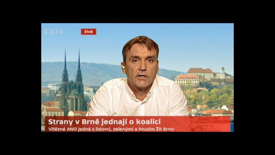 Video Rozhovor s lídrem ANO Petrem Vokřálem