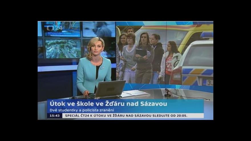 Video Brněnský speciál k útoku ve Žďáru nad Sázavou