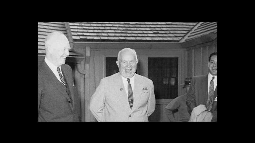 Video Historik Voráček: Chruščovův zápal narážel na klid a stabilitu aparátu