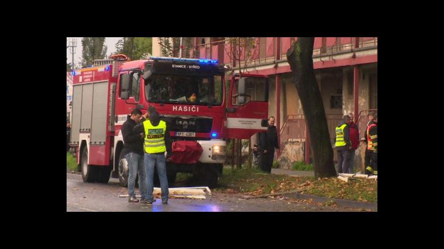 Video Při výbuchu plynu utrpělo zranění pět lidí