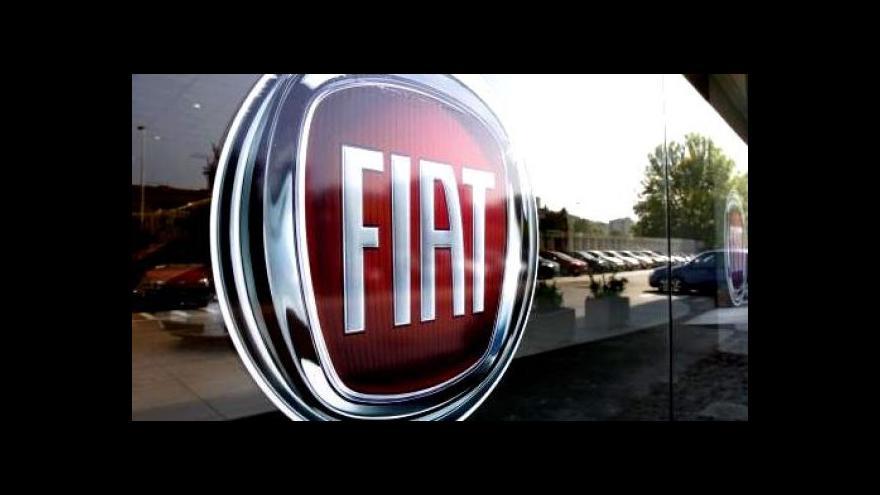 Video Fiat a Chrysler společně vstupují na burzu