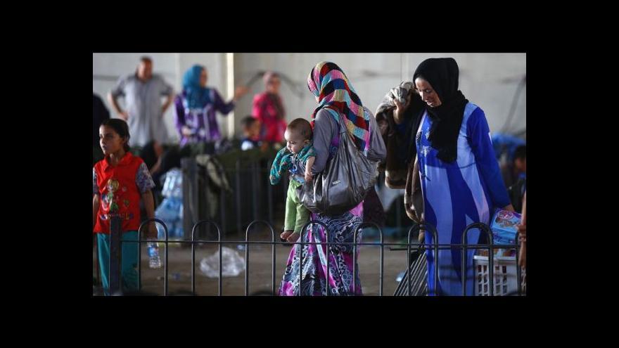 Video Zpravodaj ČT: V celém Kurdistánu je na milion a půl uprchlíků