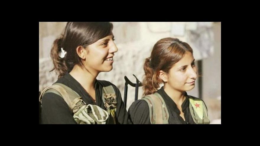 Video Horizont: Bojující ženy v řadách Kurdů