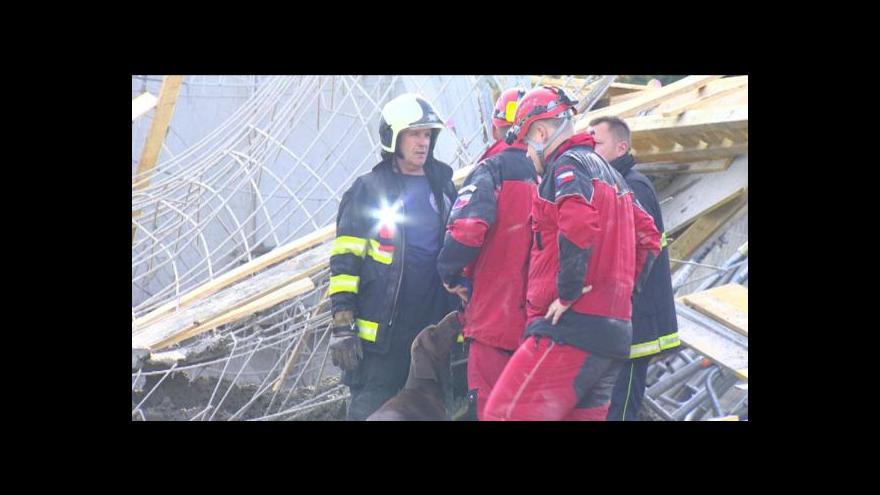 Video NO COMMENT: Zřícený podchod v Českých Budějovicích