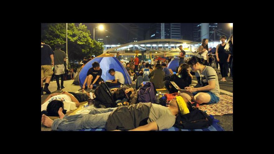 Video Ulice Hongkongu jsou opět plné demonstrantů