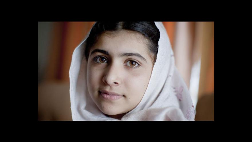 Video Nobelova cena míru pro Pákistánku a Inda