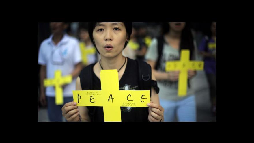Video Sinolog Fürst: V Hongkongu se aktivizuje občanská společnost