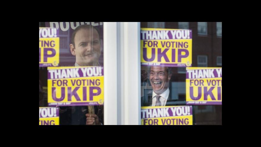 Video Protievropská strana UKIP má prvního poslance