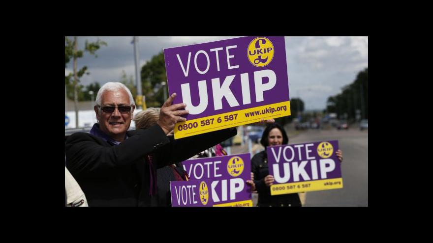 Video Další úspěch britských euroskeptiků