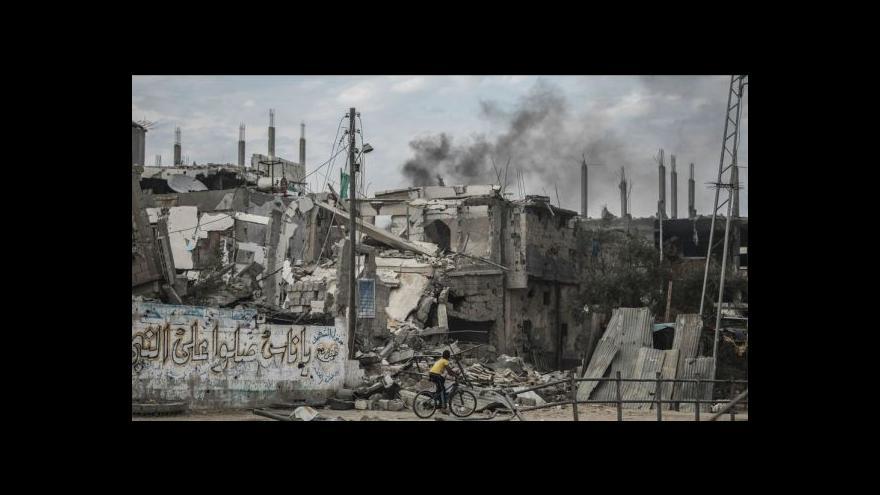 Video Zpravodaj ČT z Gazy: Lidé stále žijí v troskách