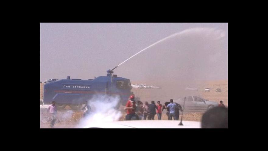 Video Pašování přes turecko-syrskou hranici