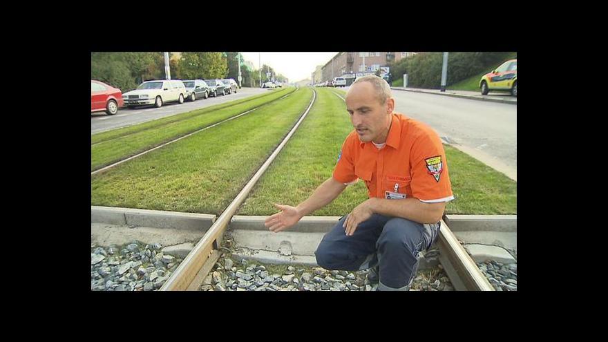 Video Záchranáři a tramvajové koleje