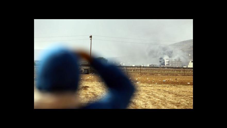 Video Zpravodaj ČT: Islamisté míří k ovládnutí města Kobani