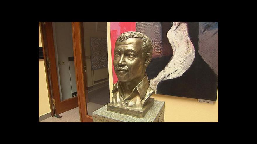 Video Události: Busta Karla Kryla v Poslanecké sněmovně
