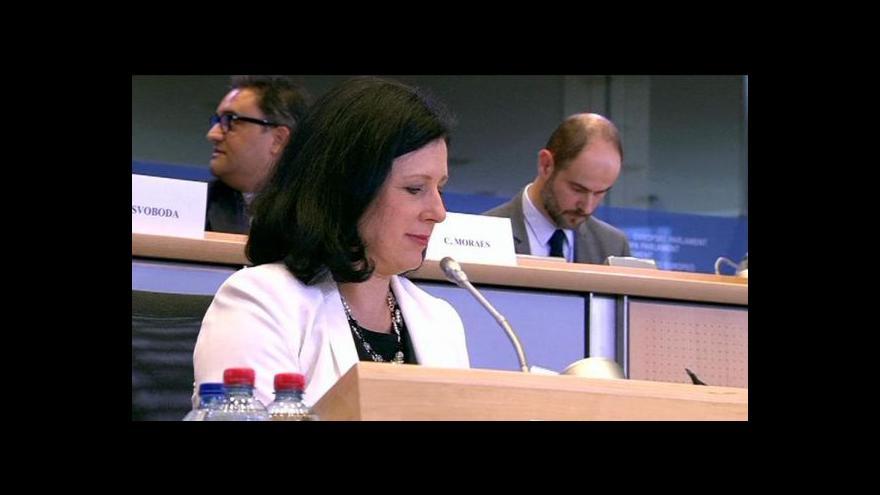 Video Bude Jourová první českou eurokomisařkou?