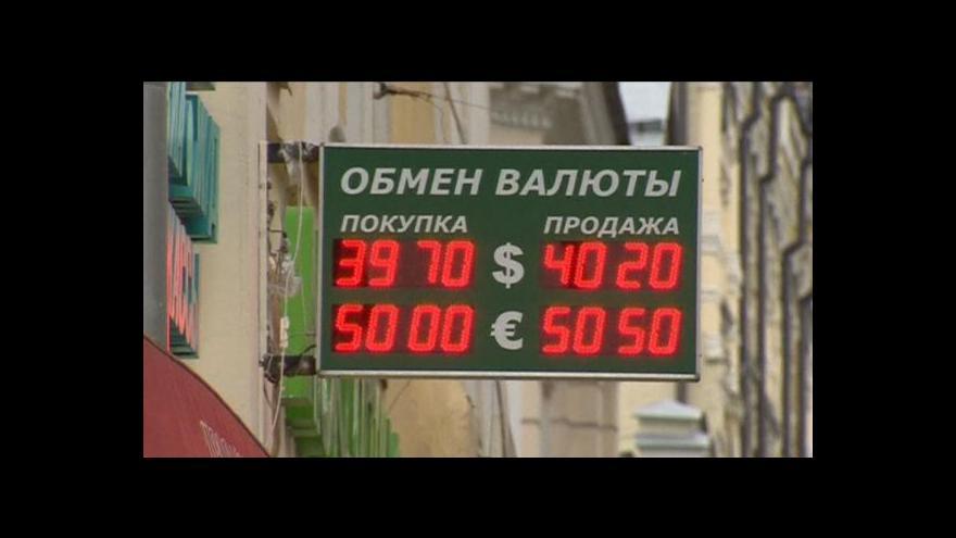 Video Ruská ekonomika má problémy