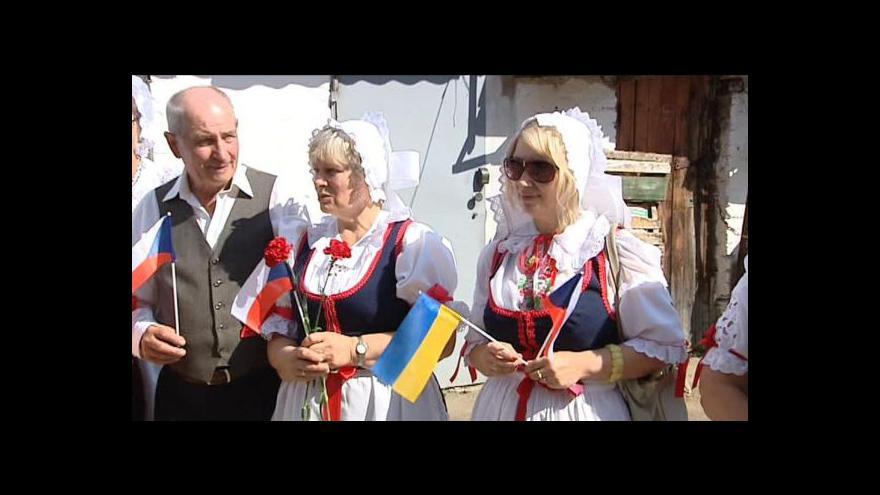 Video Zprávy v 16: Kauza repatriace volyňských Čechů