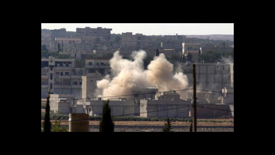 Video Vražda Alana Henninga a boje o Kobani