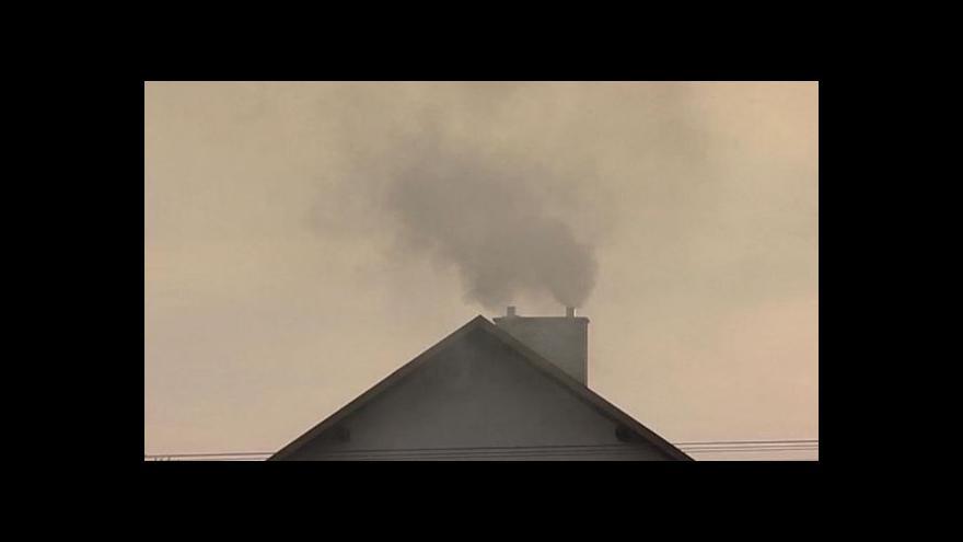 Video Začíná topná sezona, lidé se musí chystat i na smog