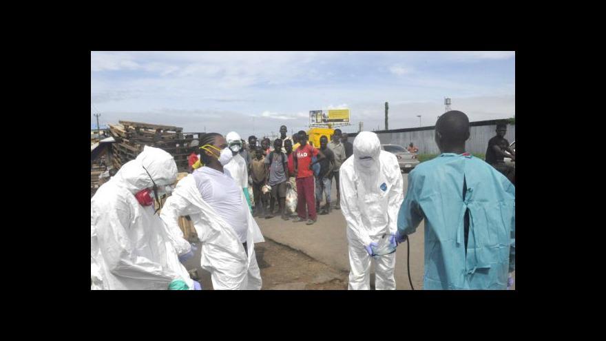 Video Zpravodaj ČT: Ebola zastínila v USA krize ve světě