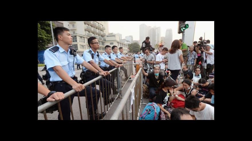 Video Zpravodajka ČT: Policie má údajně připraveny gumové projektily