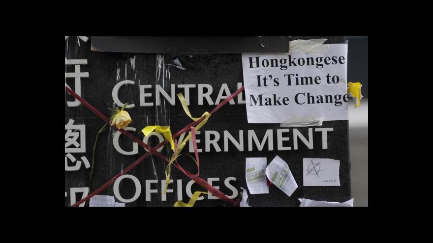 Video Ultimátum vypršelo, šéf hongkongské vlády neodstoupí