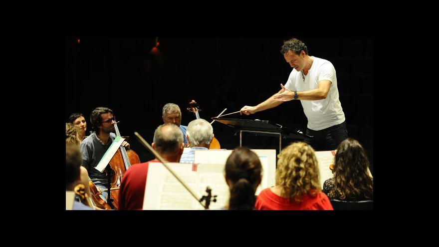 Video NO COMMENT: Zkouška Filharmonie Brno na zahajovací koncert