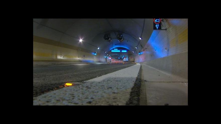 Video Prohlídka tunelu Blanka