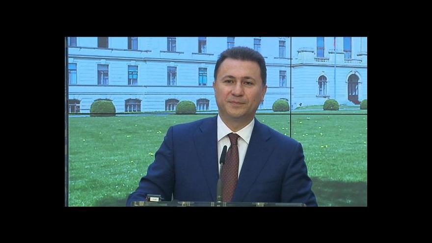 Video Sobotka: Makedonie by měla být v EU