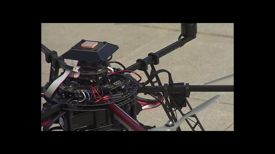 Video Reportáž: Drony na technologické přehlídce v Dubaji