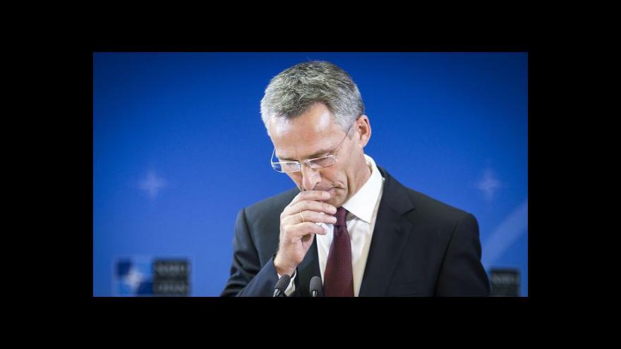 Video První vystoupení Jense Stoltenberga ve vedení NATO