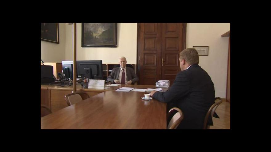 Video Jaromír Pořízek o svém působení v čele krajského soudu