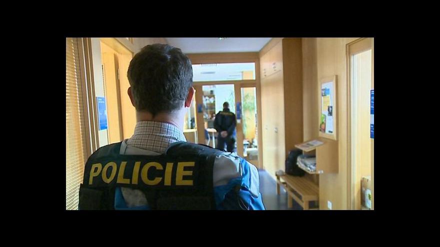 Video Policejní zásah napříč Českem