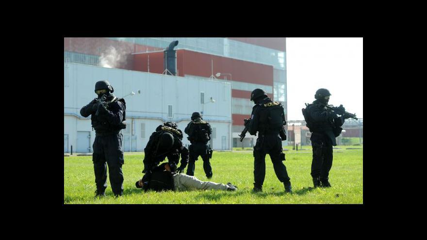 Video UvR: Speciální temelínská policie