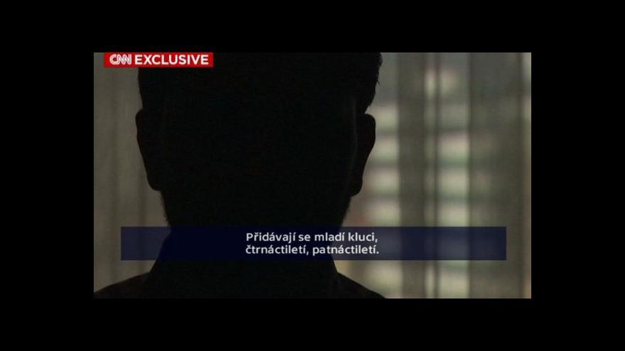 Video Svědectví bývalého a současného bojovníka IS