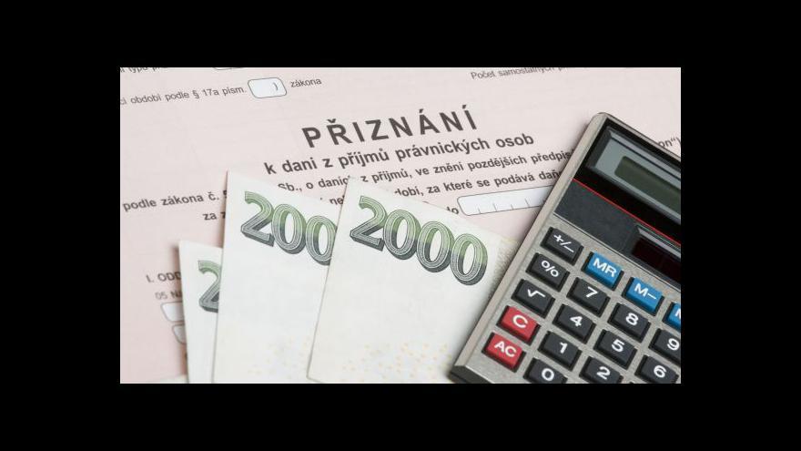 Video České firmy mají obdobnou daňovou zátěž