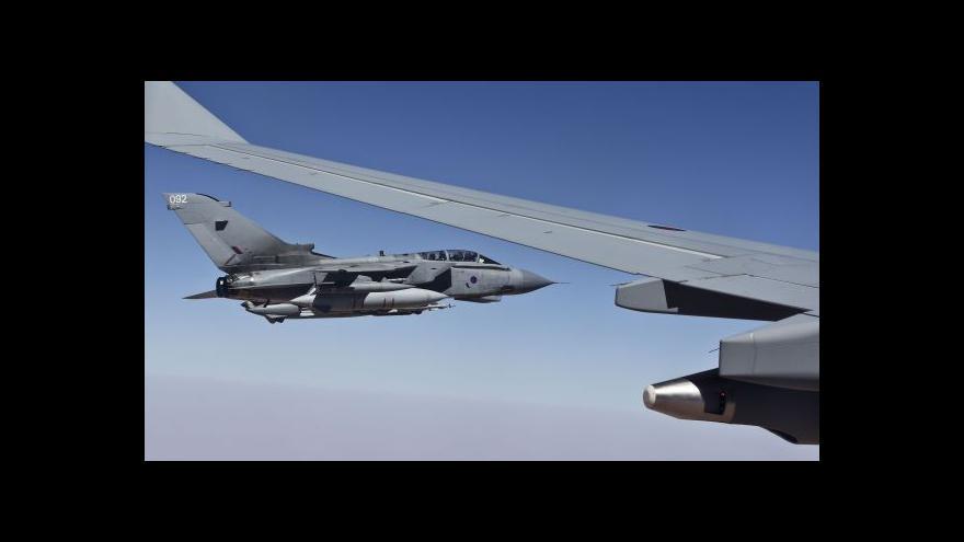 Video UDÁLOSTI: Letecké údery na Islámský stát