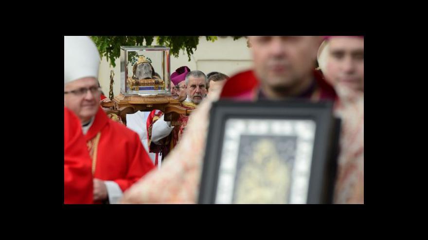 Video Národní svatováclavskou pouť navštívily tisíce lidí