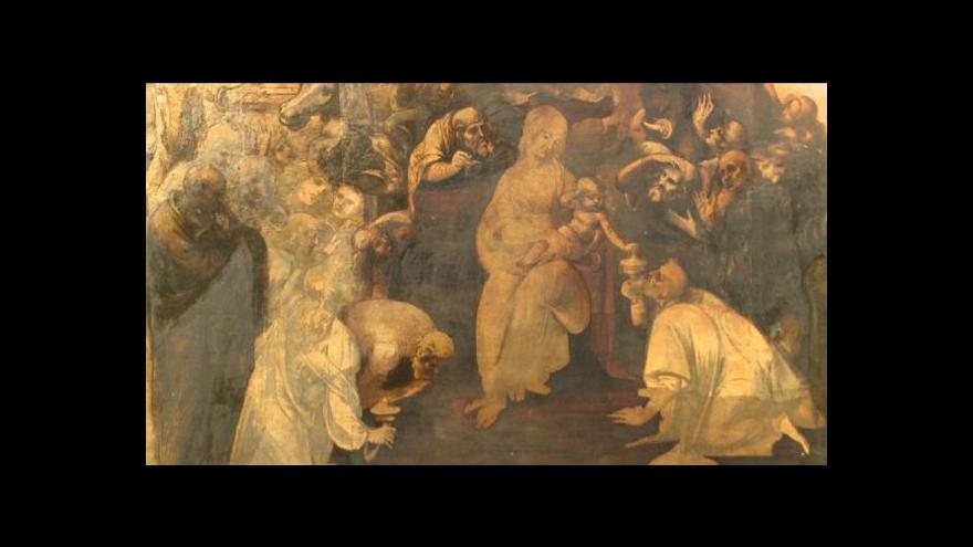 Video Události v kultuře: Da Vinciho dílo spatřilo světlo světa