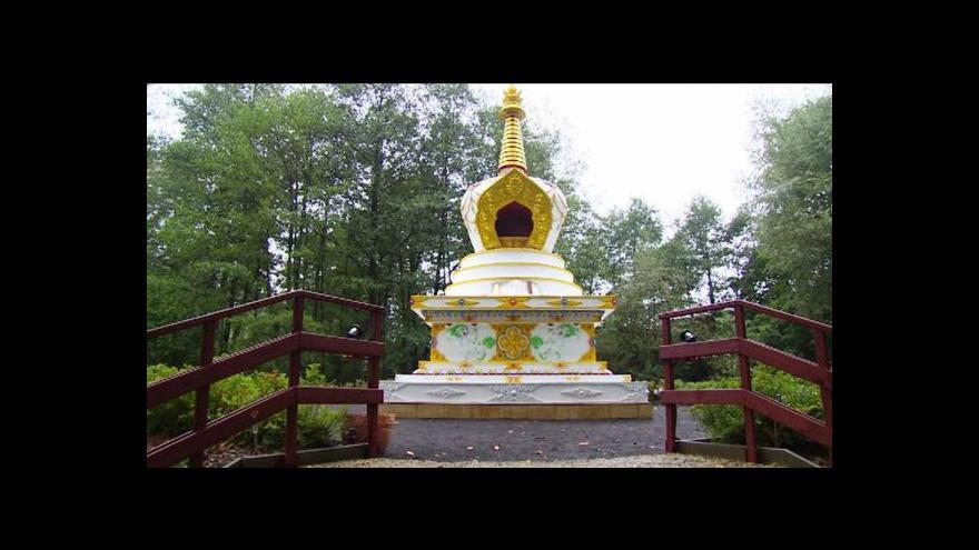 Video Reportáž: V Liberci světí buddhistickou stúpu