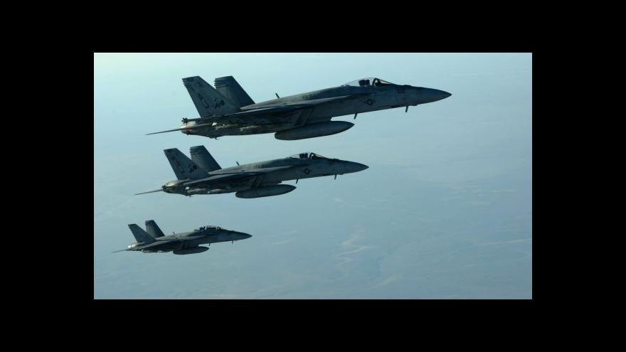Video Reportáž: USA pokračují v leteckých úderech na islamisty