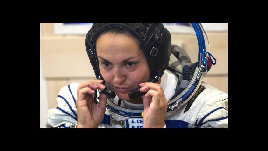 Video Jelena Serovová - první ruská kosmonautka na ISS
