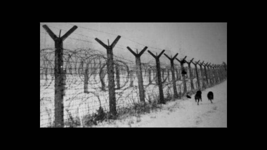 Video Železná opona na česko-bavorské hranici v letech 1948–1989