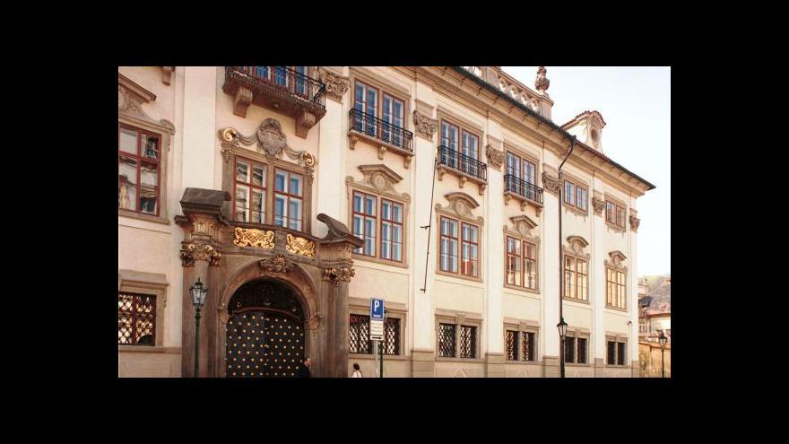 Video Podívejte se: Nostický palác se otevřel veřejnosti