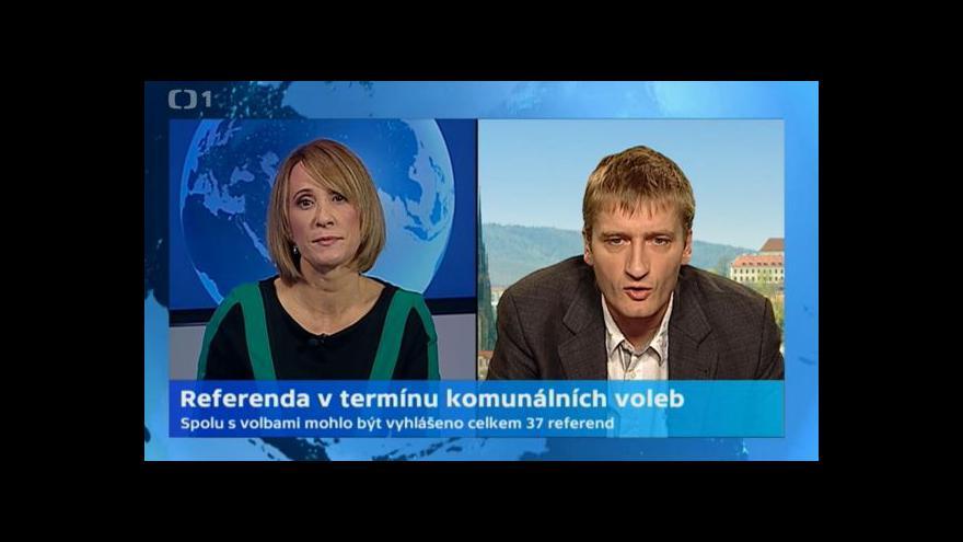 Video Jakub Patočka: Zastupitelé zmaří většinu pokusů o referendum