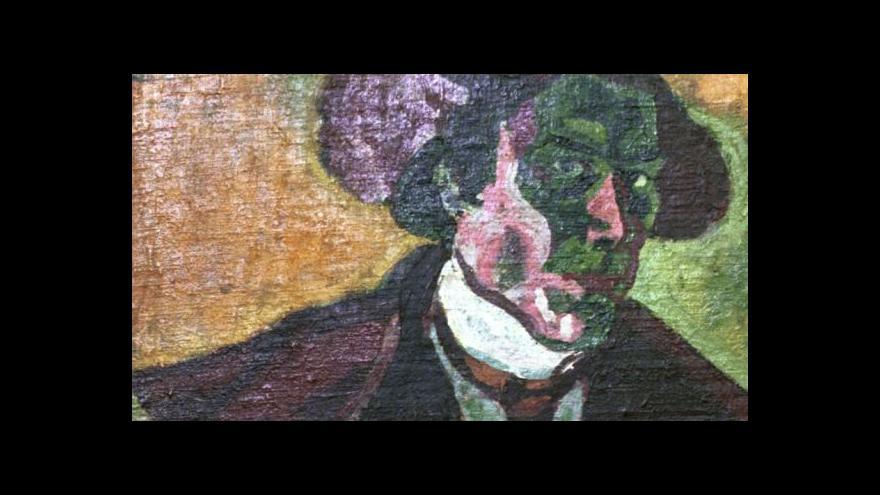 Video Příprava výstavy Bohumila Kubišty