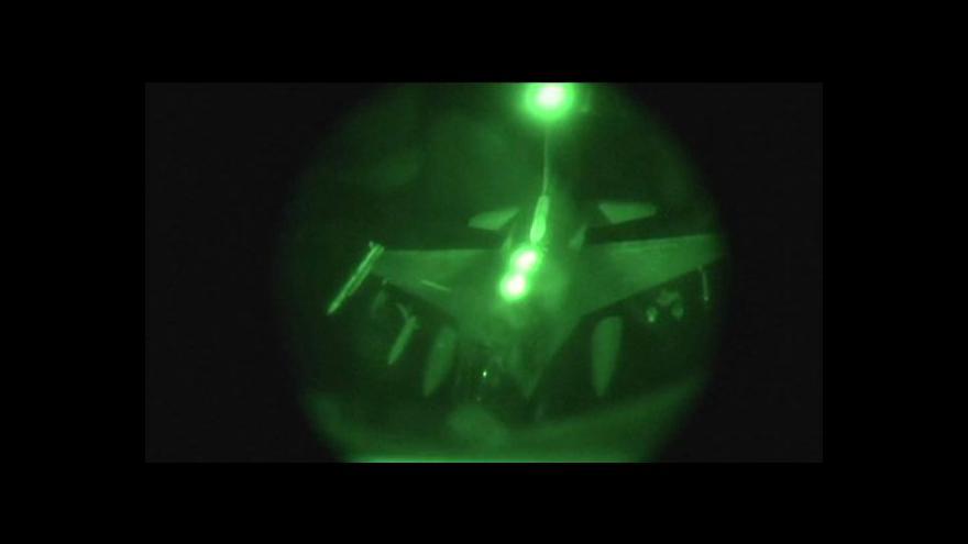 Video Spojenci pokračují v náletech proti IS v Iráku a Sýrii