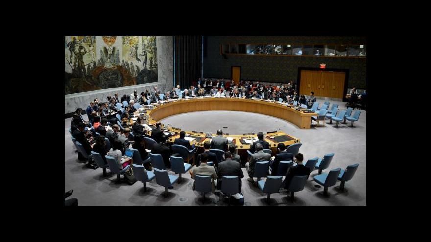 Video Zpravodaj ČT v USA: Rezoluce RB prošla i přes připomínky Ruska a Číny