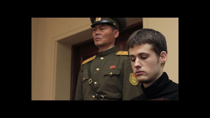 Video Američan Miller si v KLDR odpykává šestiletý trest
